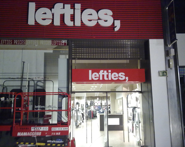 Rótulo lefties
